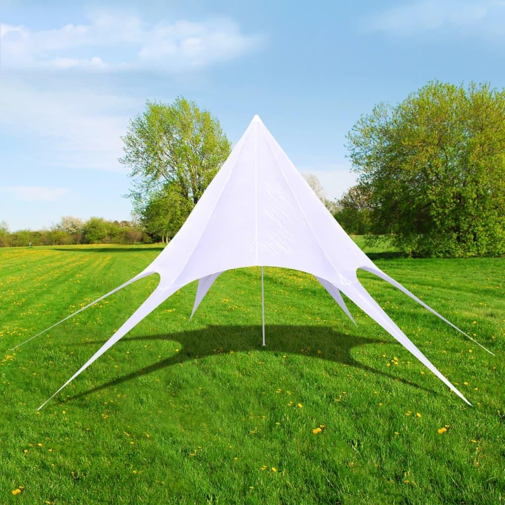 vidaXL Pavilion de grădină în formă de stea hexagonală, 10 m poza vidaxl.ro