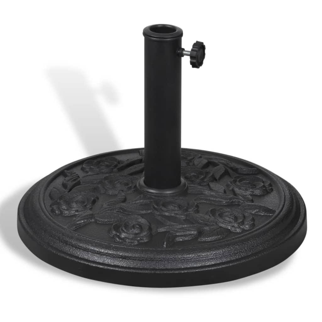 Bază suport rotundă pentru umbrela de soare imagine vidaxl.ro