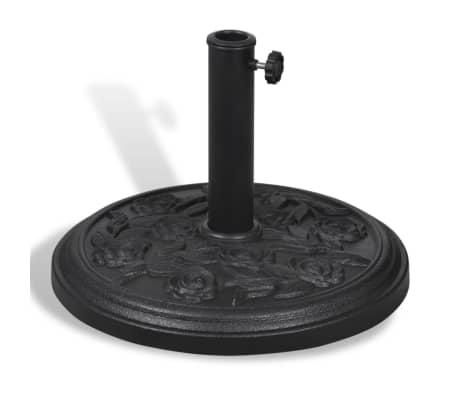 acheter pied base de parasol rond en r sine pas cher. Black Bedroom Furniture Sets. Home Design Ideas