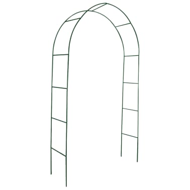 vidaXL Arche de jardin 2 pcs pour plantes grimpantes[2/4]