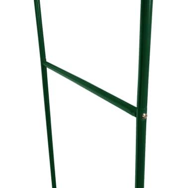 vidaXL Arche de jardin 2 pcs pour plantes grimpantes[3/4]