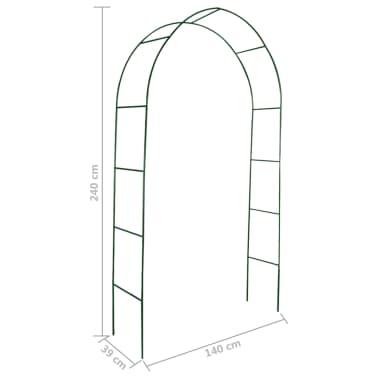 vidaXL Arcos de jardín para plantas trepadoras 2 unidades[4/4]