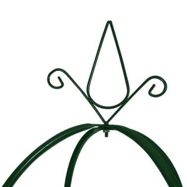 vidaXL Vrtni Luk za Penjačice Biljke u Obliku Kule 2 kom[3/5]