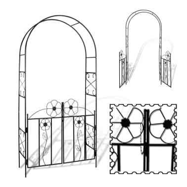 Vrtna vrata lukom za ruže[4/5]