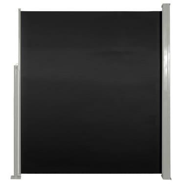 Paravent Store vertical Patio Terrasse 160 x 300 cm Noir[2/6]