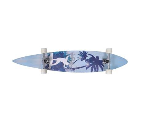 """Longboard dizajn palm 117 cm 7 """"ALU podvozje[4/5]"""