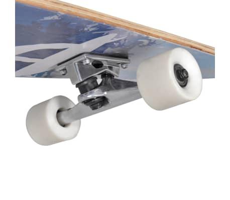 """Longboard dizajn palm 117 cm 7 """"ALU podvozje[5/5]"""