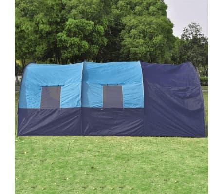 Poliéster Tienda De Campaña 6 Personas Azul-Azul Oscuro[4/7]