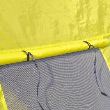 Tienda De Campaña De Poliéster 6 Personas-Azul Amarillo[5/7]