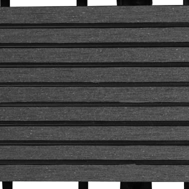 Pilkos WPC Plytelės, 30x30cm, 11 vnt., 1 m2[5/6]