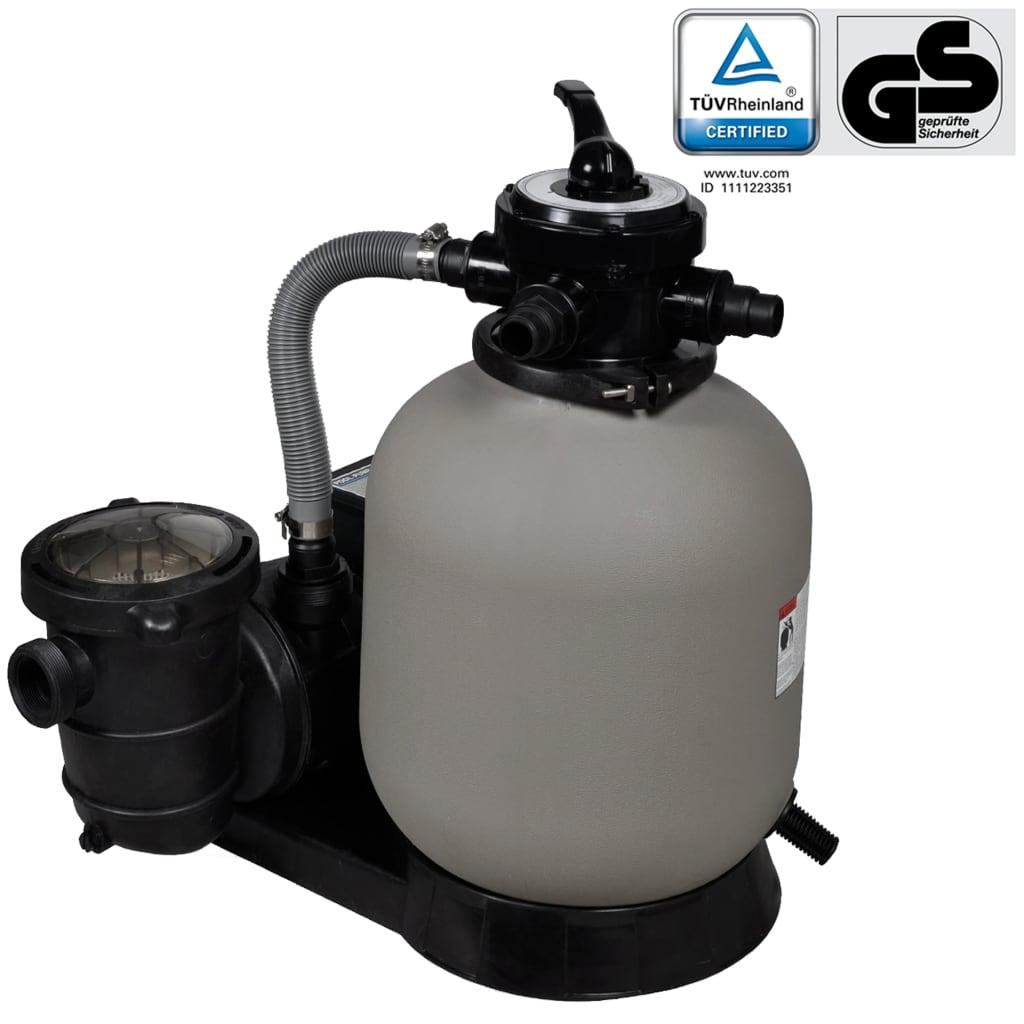 vidaXL Pompă filtru cu nisip 600 W 17000 l/h vidaxl.ro