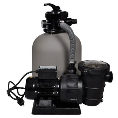 vidaXL Bomba filtro de arena 600 W 17000 l/h[2/5]