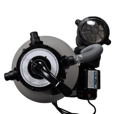 vidaXL Bomba filtro de arena 600 W 17000 l/h[3/5]