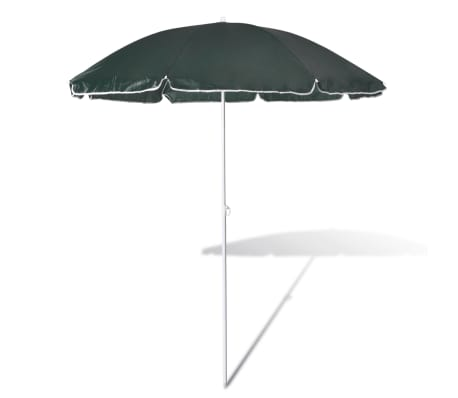 acheter 180cm parasol de plage vert pas cher. Black Bedroom Furniture Sets. Home Design Ideas
