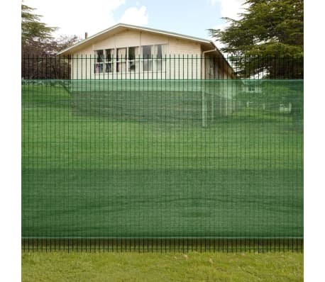 "4' 9"" x 9' 8"" Fence Windscreen-Privacy Mesh Screen/Net-Green[1/5]"