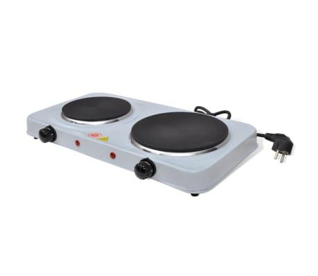 Placa de cocci n el ctrica 2500 w dos quemadores - Placa electrica cocina ...