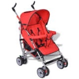 Contemporary Baby Toddler Travel Baby Buggy Infant 5-Position Red