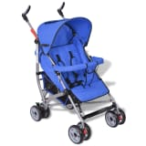 Contemporary Baby Toddler Travel Buggy Infant 5-Position Blue