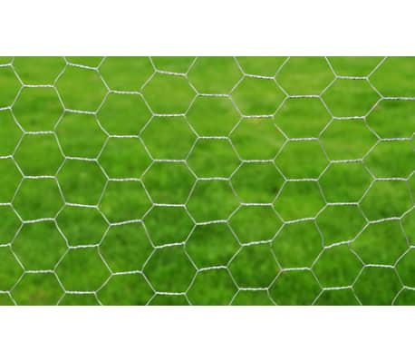 """Hexagonal Wire Netting 1' 7"""" x 82' Galvanized Mesh Size 1""""[3/4]"""