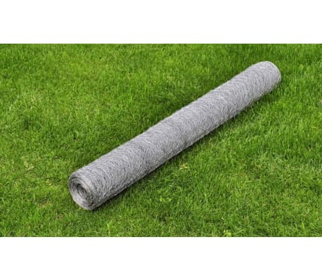 "Hexagonal Wire Netting 2' 5"" x 82' Galvanized Mesh Size 1""[1/4]"