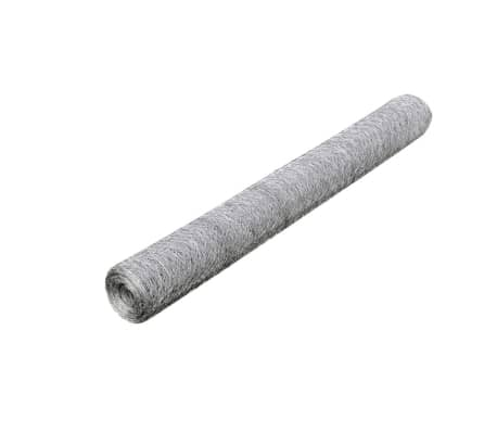 "Hexagonal Wire Netting 2' 5"" x 82' Galvanized Mesh Size 1.4""[2/4]"