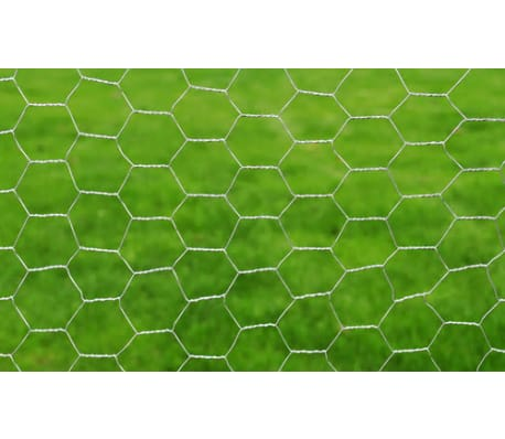 "Hexagonal Wire Netting 2' 5"" x 82' Galvanized Mesh Size 1.4""[3/4]"