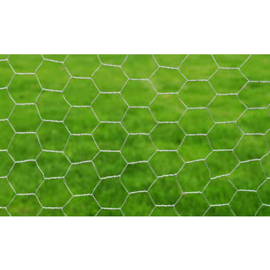 Red De Alambre Hexagonal 1M x 25M Con Recubrimiento De PVC 0,75 mm[3/4]