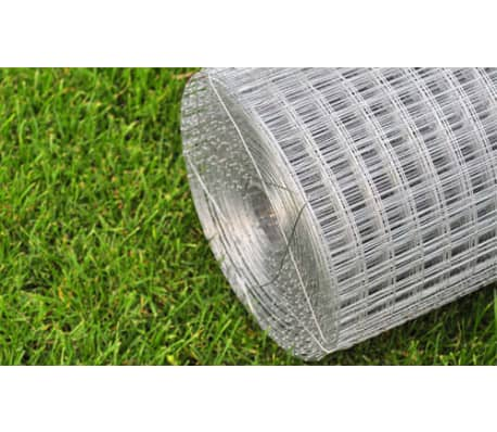 "Square Wire Netting 3' 3"" x 32' 8"" Galvanized Thickness 0.035""[4/4]"