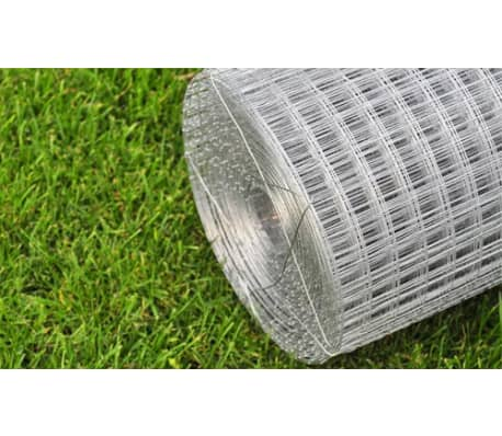 "Square Wire Netting 3' 3"" x 82' Galvanized Thickness 0.03""[4/4]"