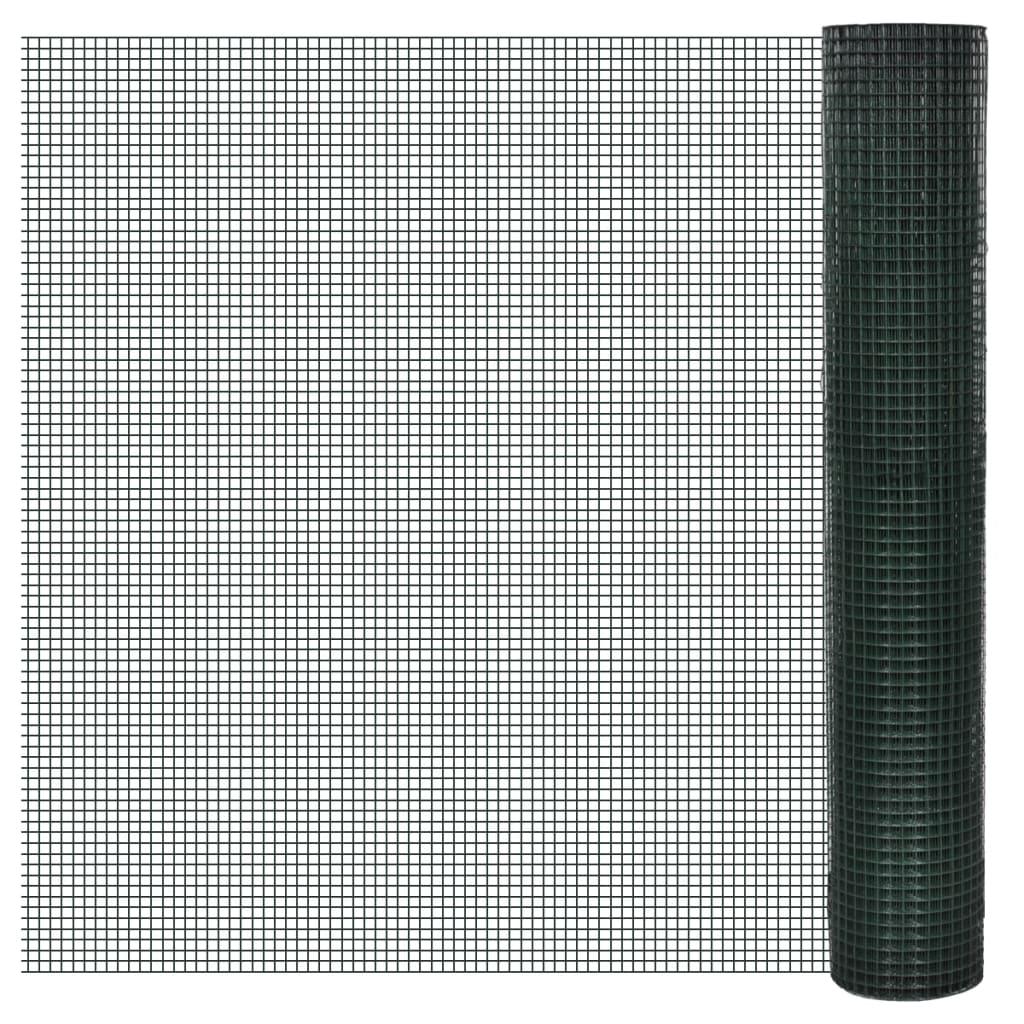 99140436 1m x 10m Drahtgitter Maschendraht Volierendraht , 25x25mm