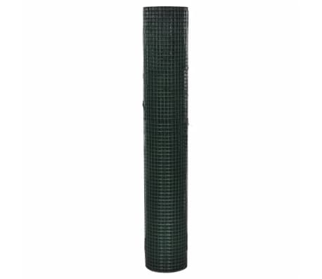 Vielinis Tinklas 1m x 25m, Dengtas PVC, Galvanizuotas, Akys 19 x 19 mm[2/4]