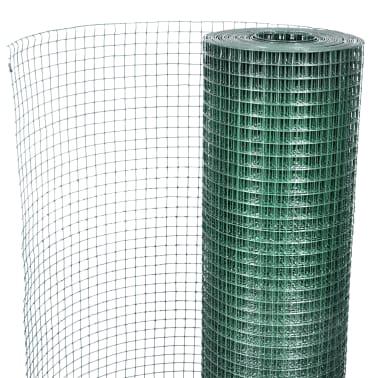 Vielinis Tinklas 1m x 25m, Dengtas PVC, Galvanizuotas, Akys 19 x 19 mm[4/4]