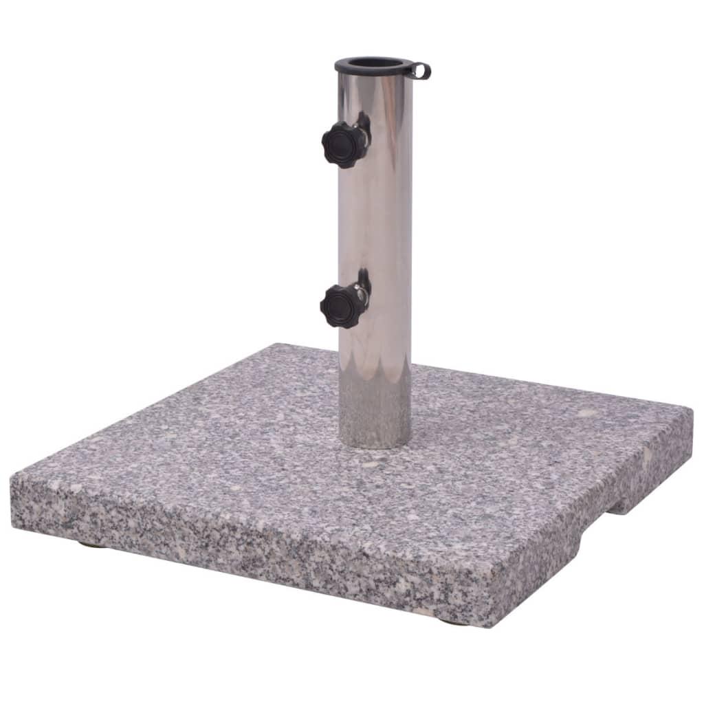 Suport umbrelă din granit 20 kg imagine vidaxl.ro