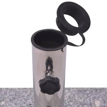 Parasolvoet Graniet 20 kg vierkant[3/5]