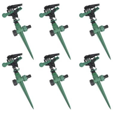 Impulse Sprinkler Garden Watering 6 pcs[1/5]