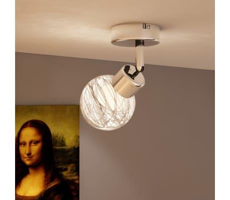 Shop Lampe med 4 glaskugle inklusiv 1 pære | vidaXL