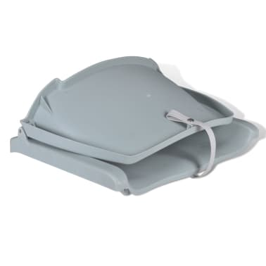 "Boat Seat Foldable Backrest No Pillow Gray 16.1""x20.1""x18.9""[3/4]"