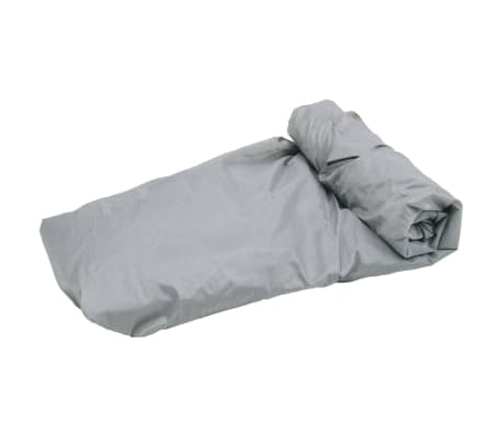 Boat Cover Gray Length 16'-18' Width 7.8'[2/5]