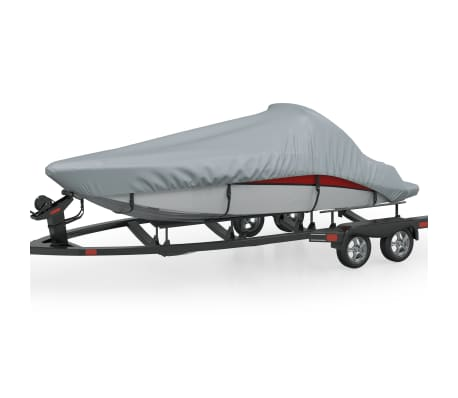 Boat Cover Gray Length 17'-19' Width 8'[1/5]