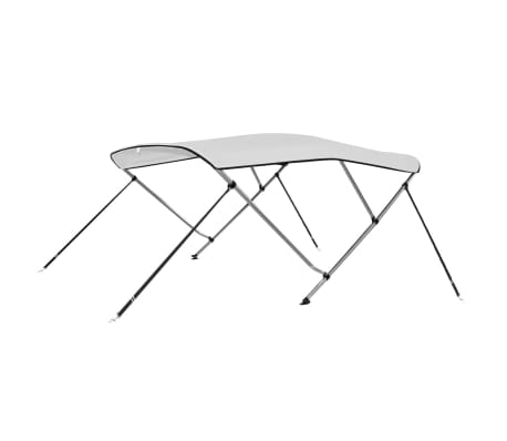 "vidaXL Bimini Top White 72""x63""x55""[1/6]"