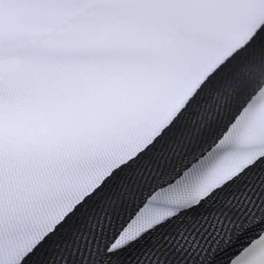vidaXL Toldo Bimini blanco 183x180x140 cm[3/6]