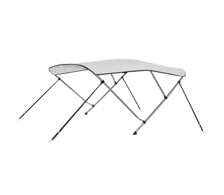 "vidaXL Bimini Top White 72""x77""x55""[1/6]"