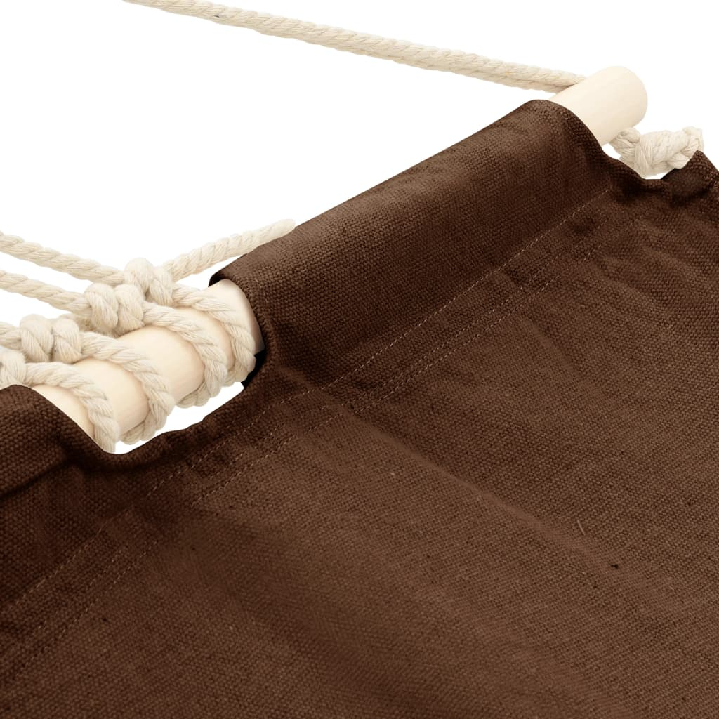 Hangmat 210 x 150 cm (bruin)