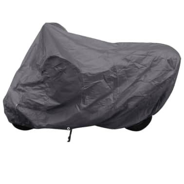 Motorcycle Cover Gray Polyester[1/4]