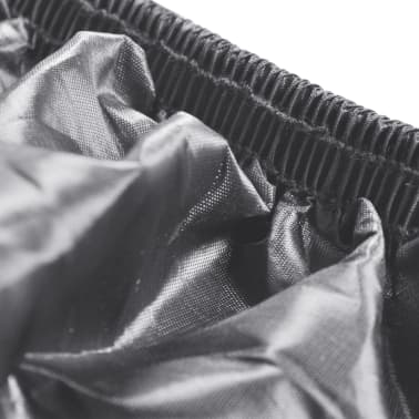 Motorcycle Cover Gray Polyester[3/4]