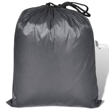 vidaXL Motorhoes polyester grijs[4/4]