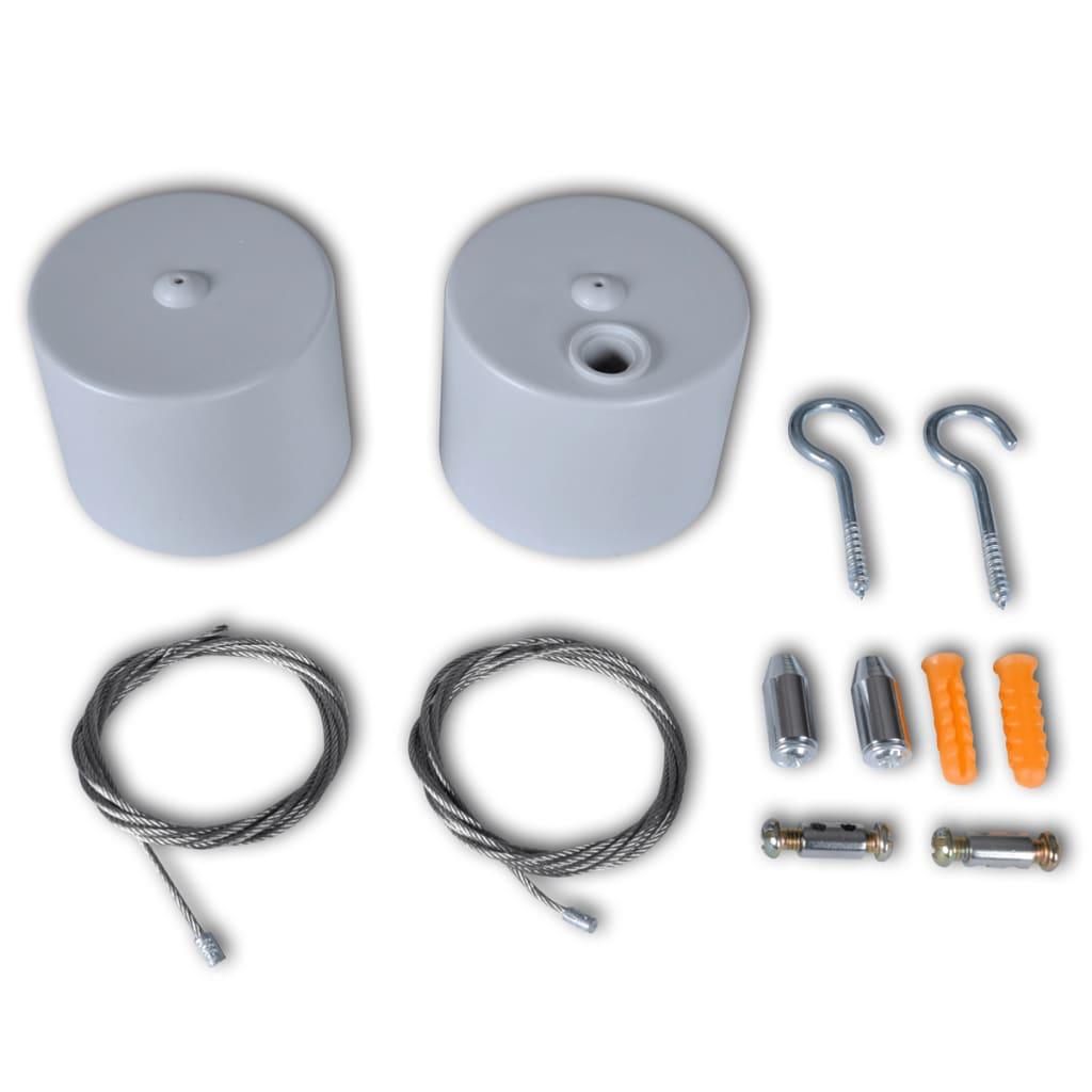 vidaXL Kabelsatz für Rasterleuchte Deckenleuchte Burolampe T8 Lampe
