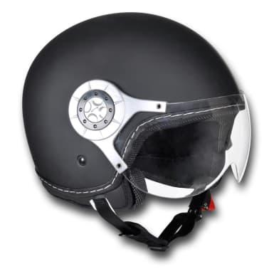 Acheter Casque Moto Noir Taille S Pas Cher Vidaxlfr