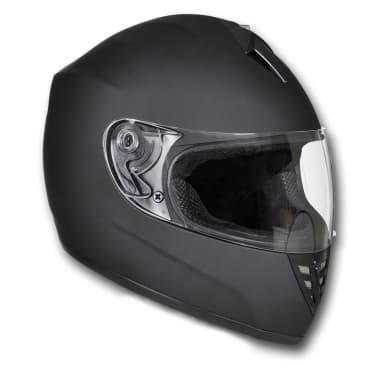 Acheter Casque Intégral Moto Noir Taille S Pas Cher Vidaxlfr