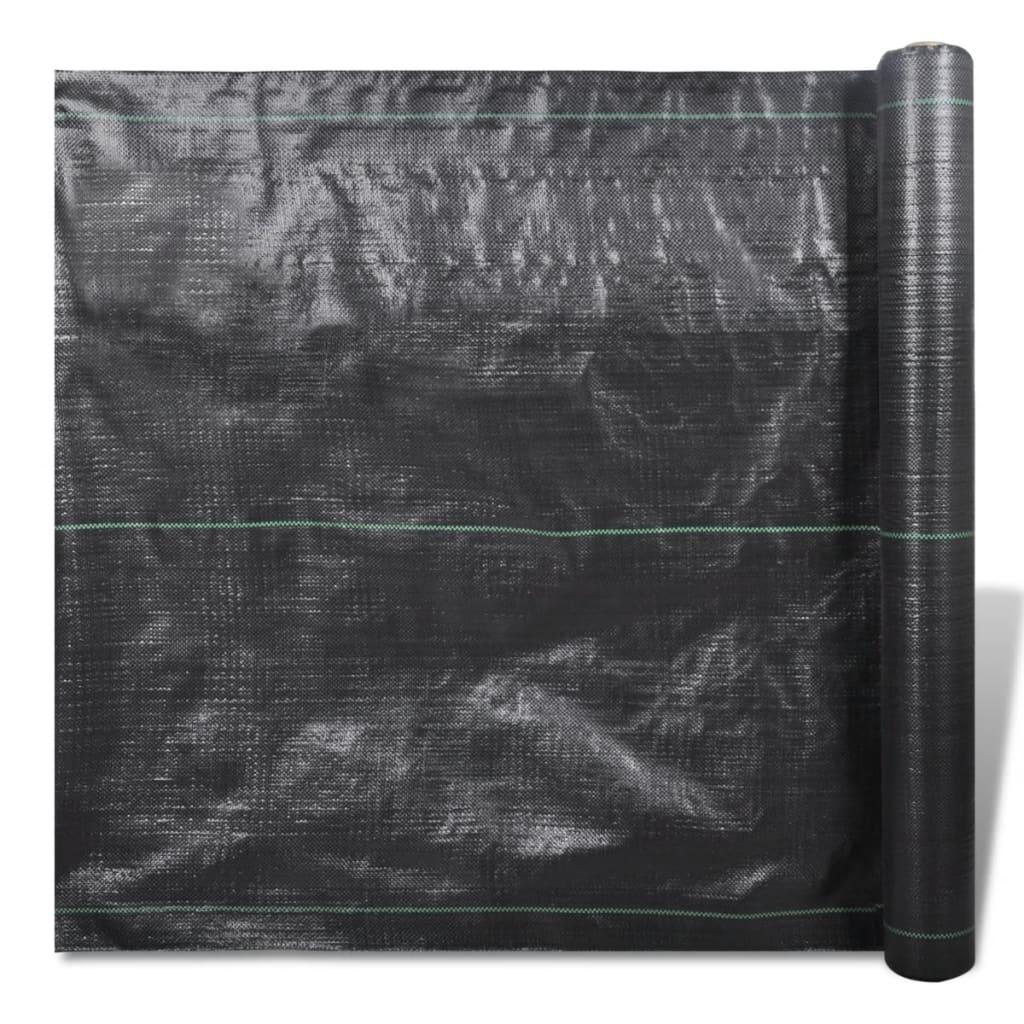 PP zahradní textilie proti plevelům - tkaná 200 x 1m 90 gsm